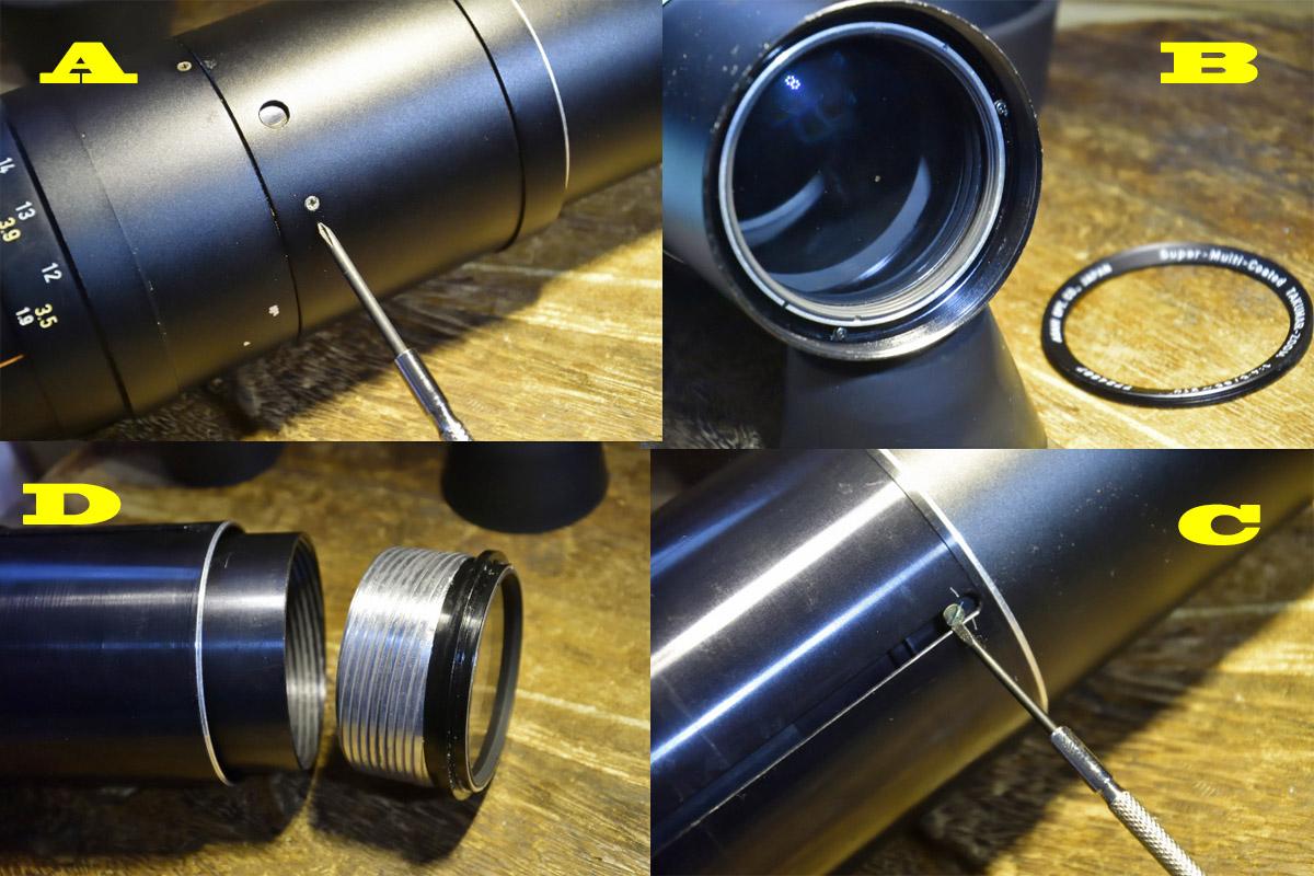タクマー85-210mm分解
