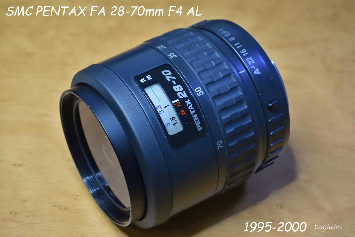 SMC PENTAX FA 28-70mm F4 AL