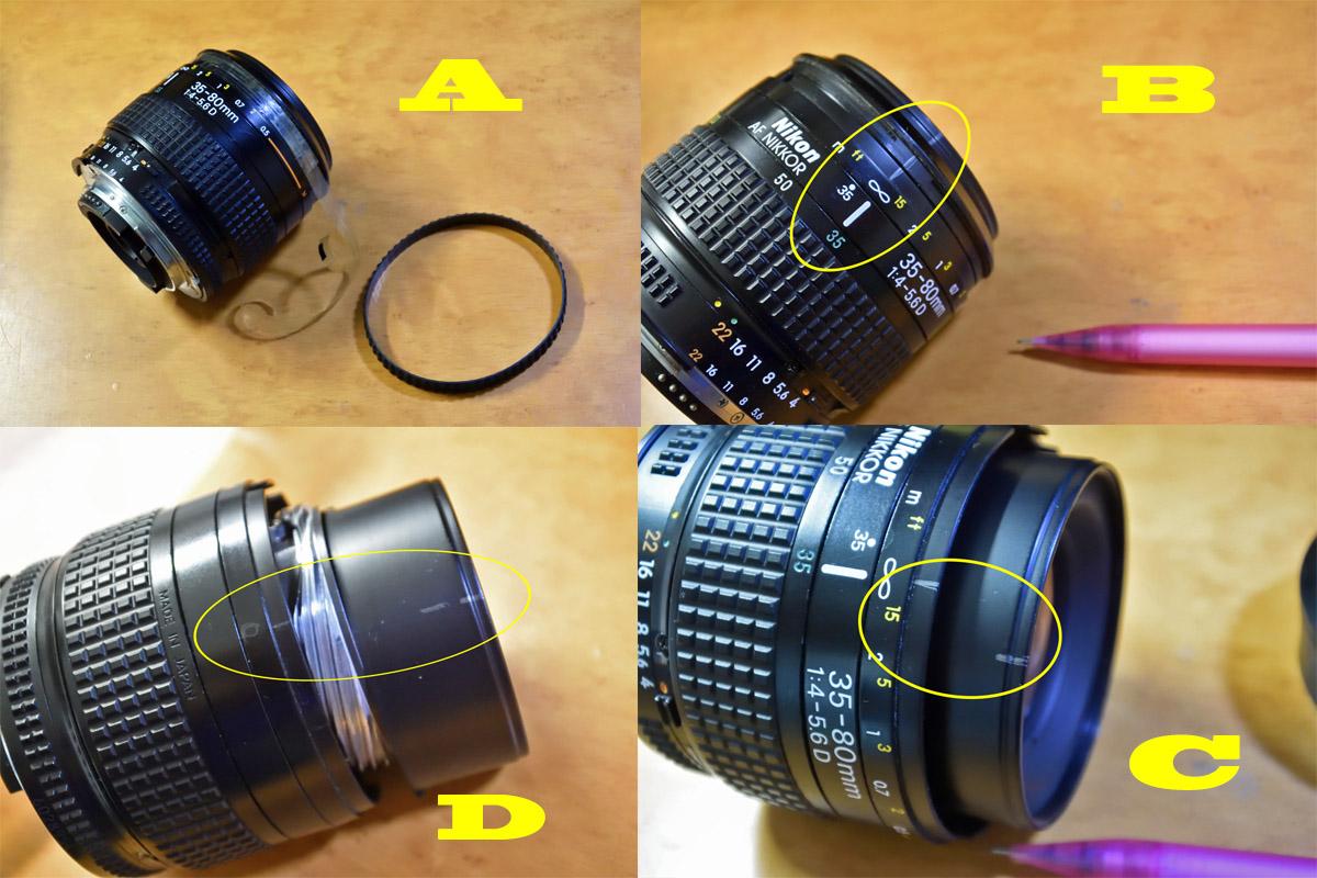 nikkor35-80分解修理