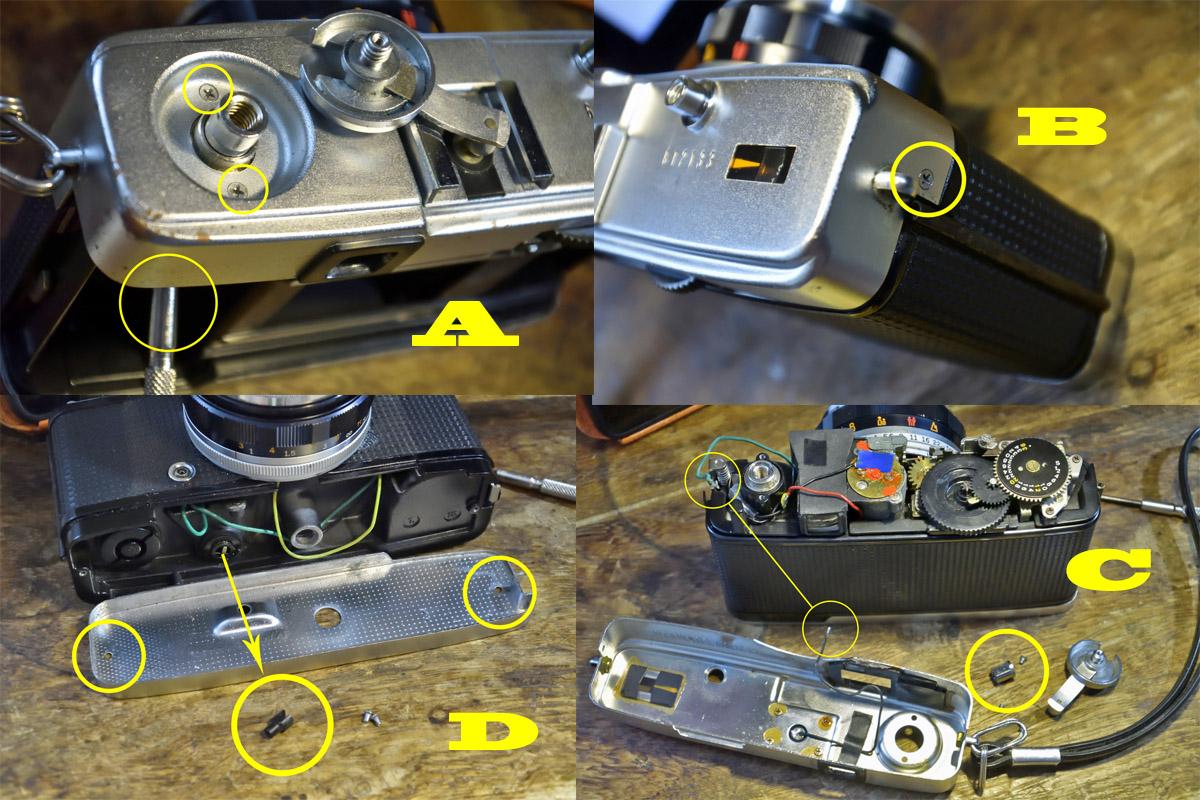 トリップ35分解・修理