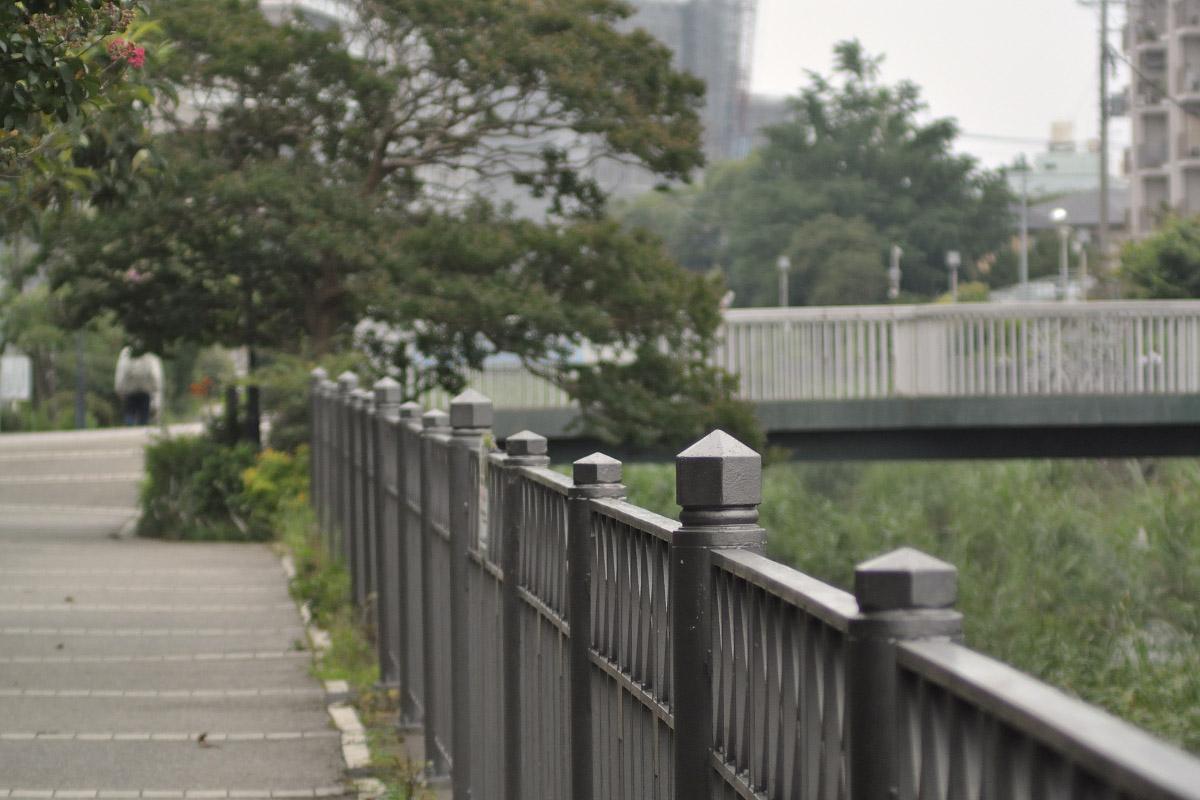 川の柵B・70mm