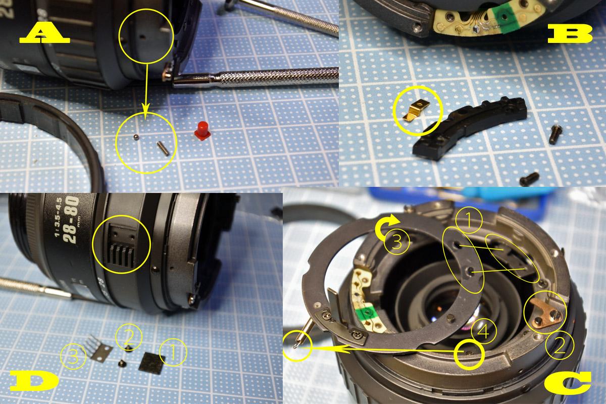 PENTAX28-80mm repair