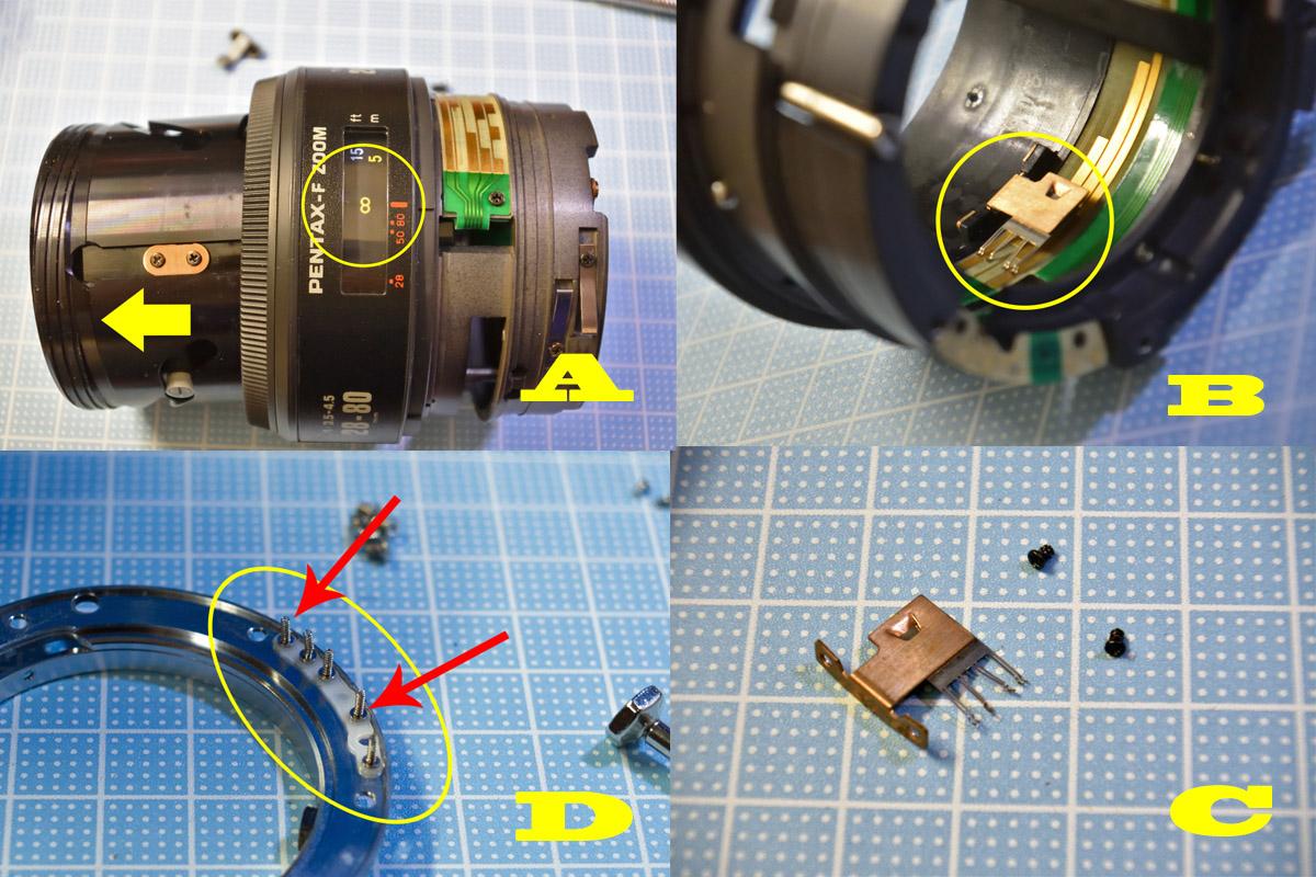 PENTAX28-80mm repair③
