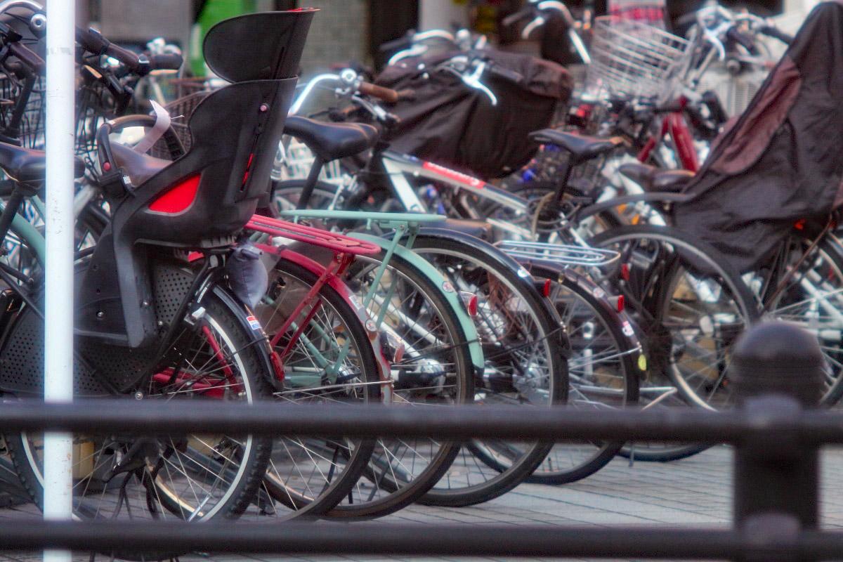 ヤシカ135自転車置き場