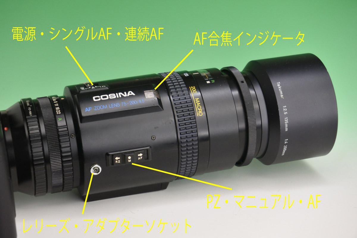 コシナAF75-200完成