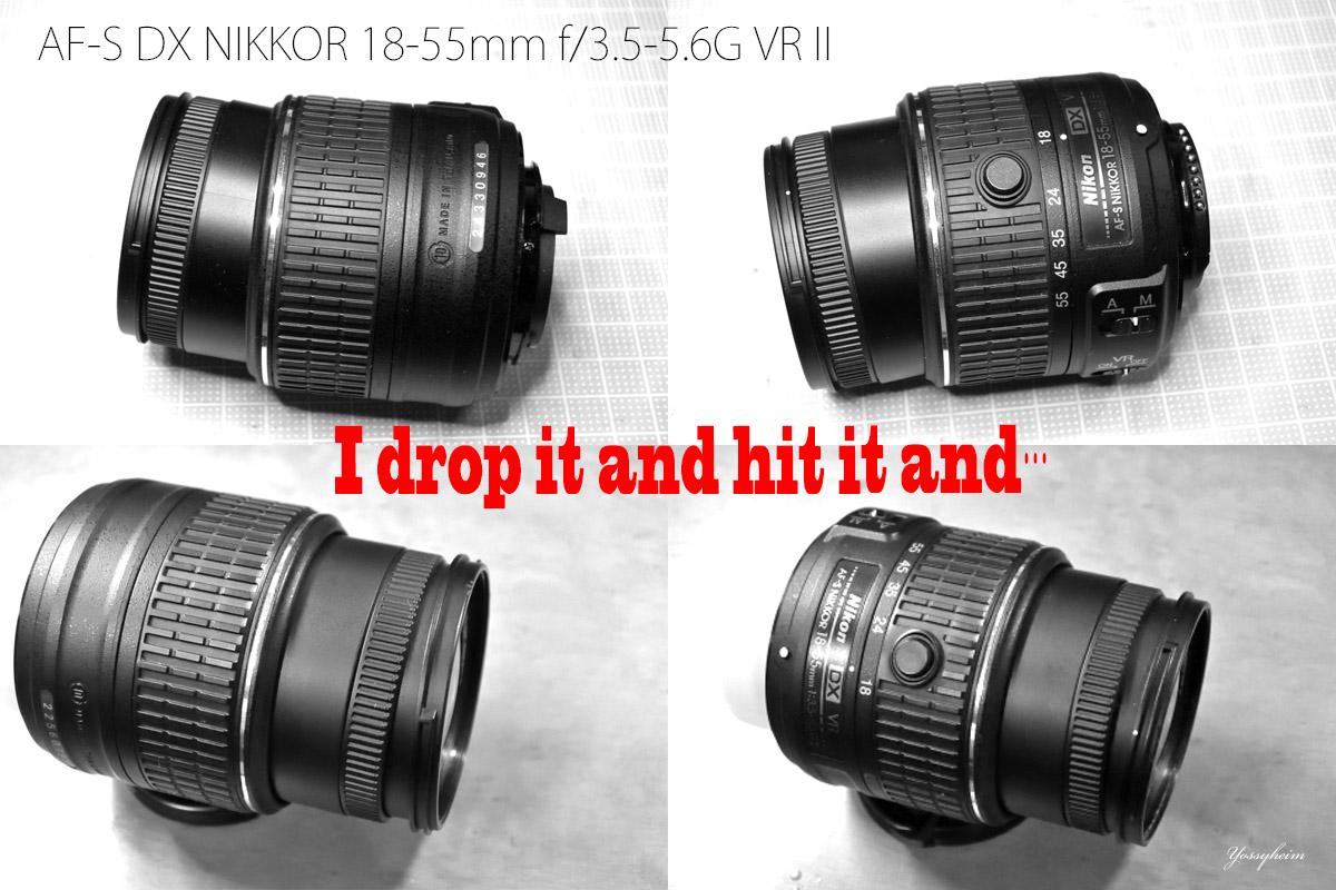 AF-S DX NIKKOR 18-55mm f/3.5-5.6G VR II修理