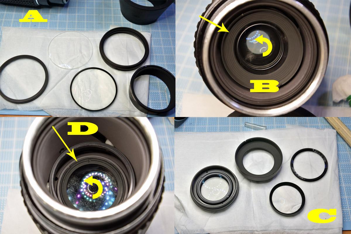 PENTAX 75-150mm F4レンズ清掃