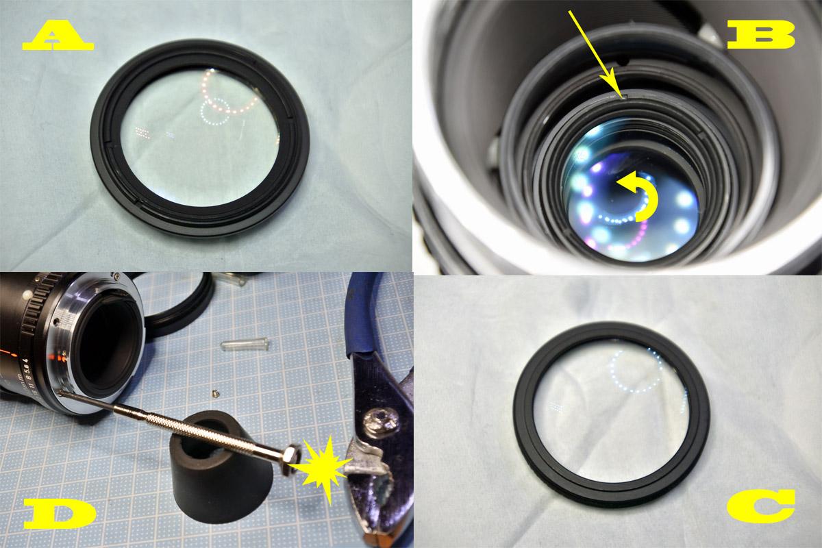 PENTAX 75-150mm F4中玉清掃