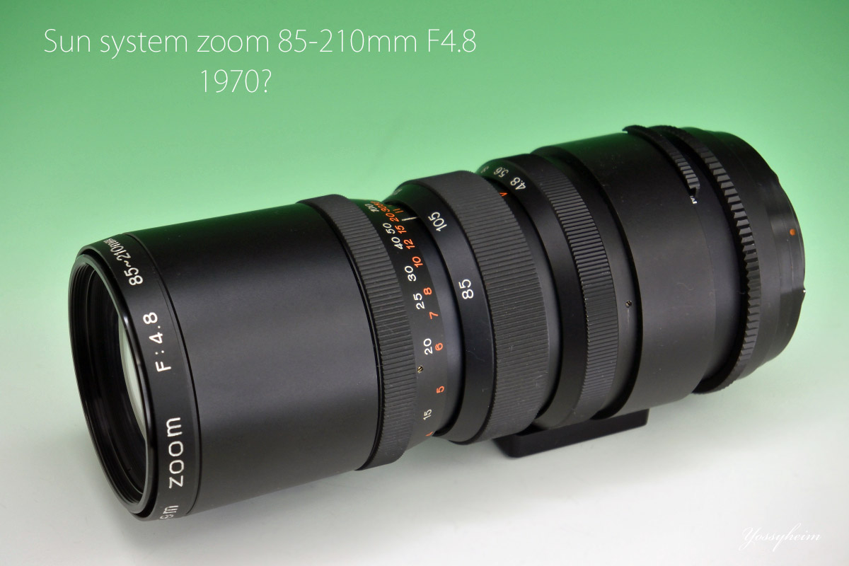 Sun system zoom 85-210mm F4.8