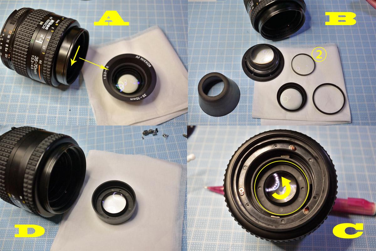 Zoom-NIKKOR 35-70mm前群中群