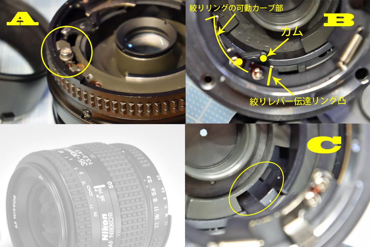 nikkor35-70mm組み立て