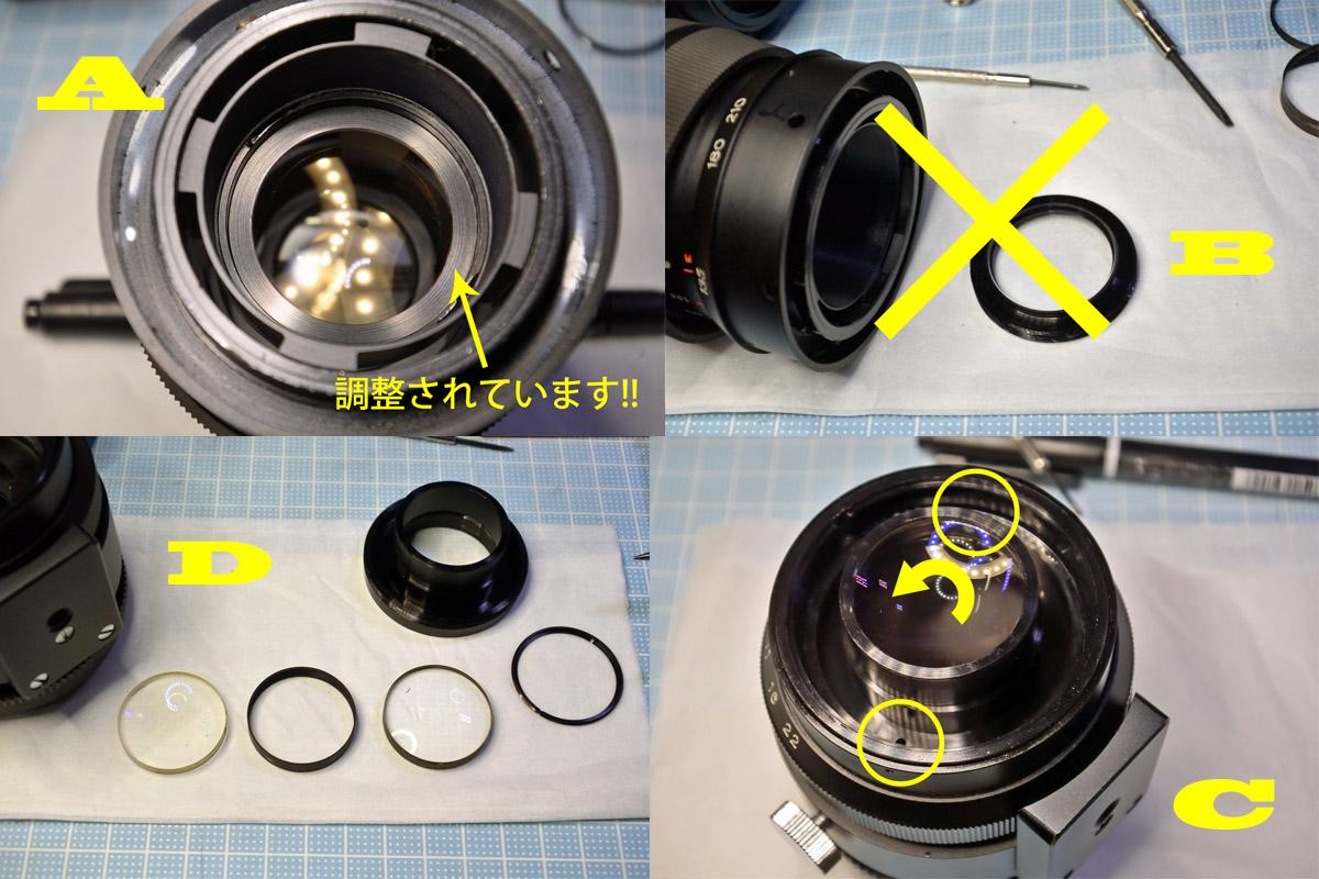 SUN 85-210mm F4.8中玉清掃