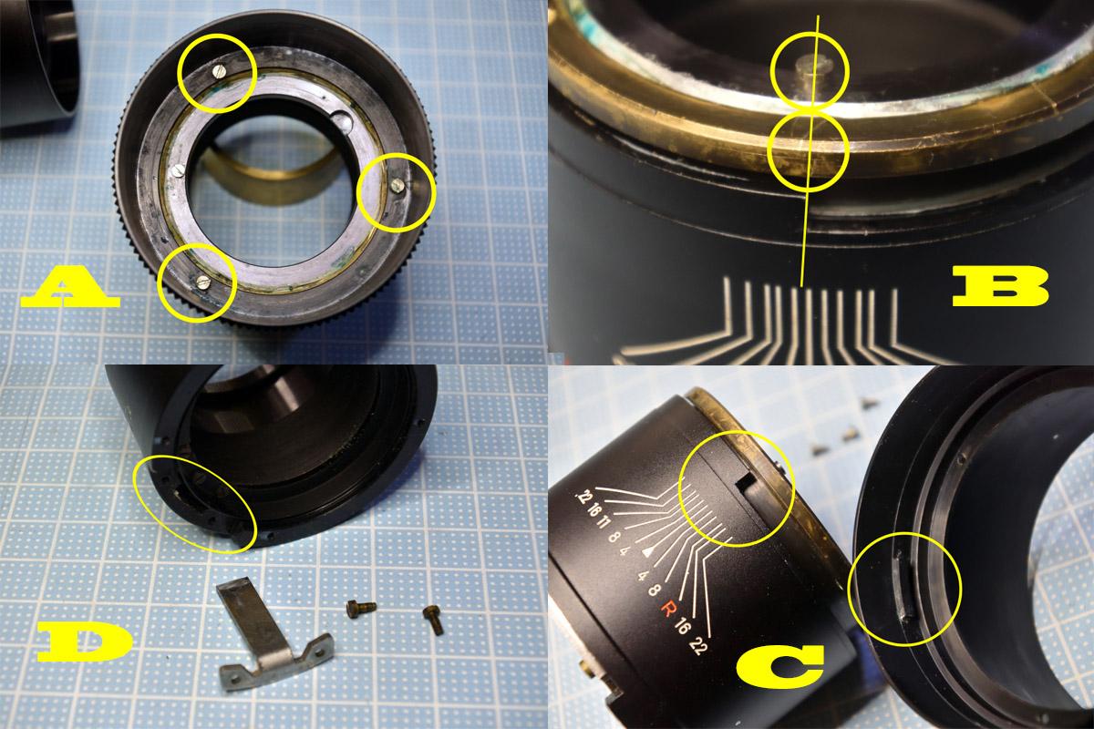 MINOLTA ROKKOR-TC 135mm F4ヘリコイドグリス交換