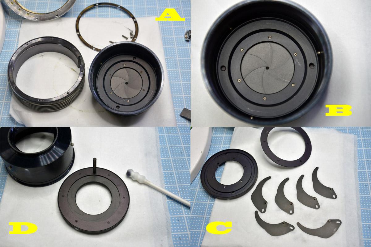MC ROKKOR-PF 50mm f1.7絞り羽根の清掃