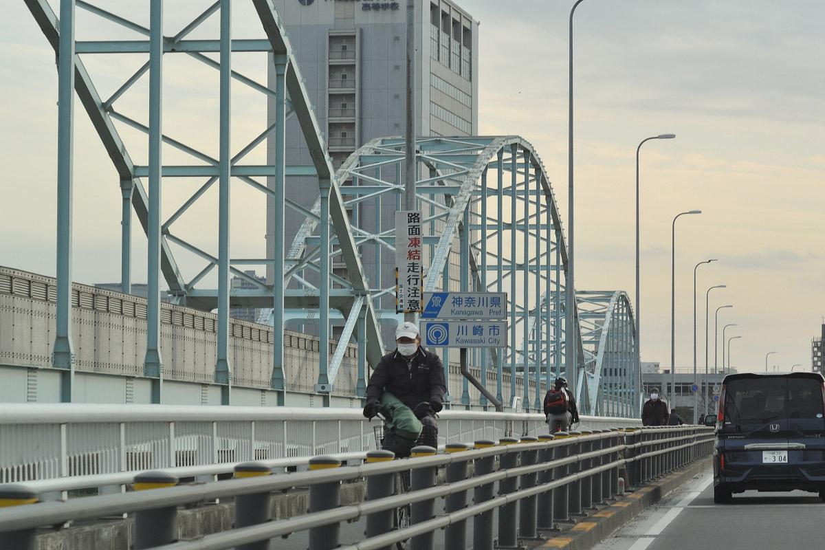 MC ROKKOR-PF 50mm f1.7作例多摩川大橋