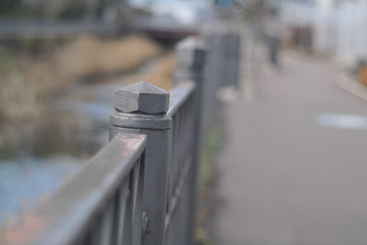 MC ROKKOR-PF 50mm f1.7作例橋の欄干