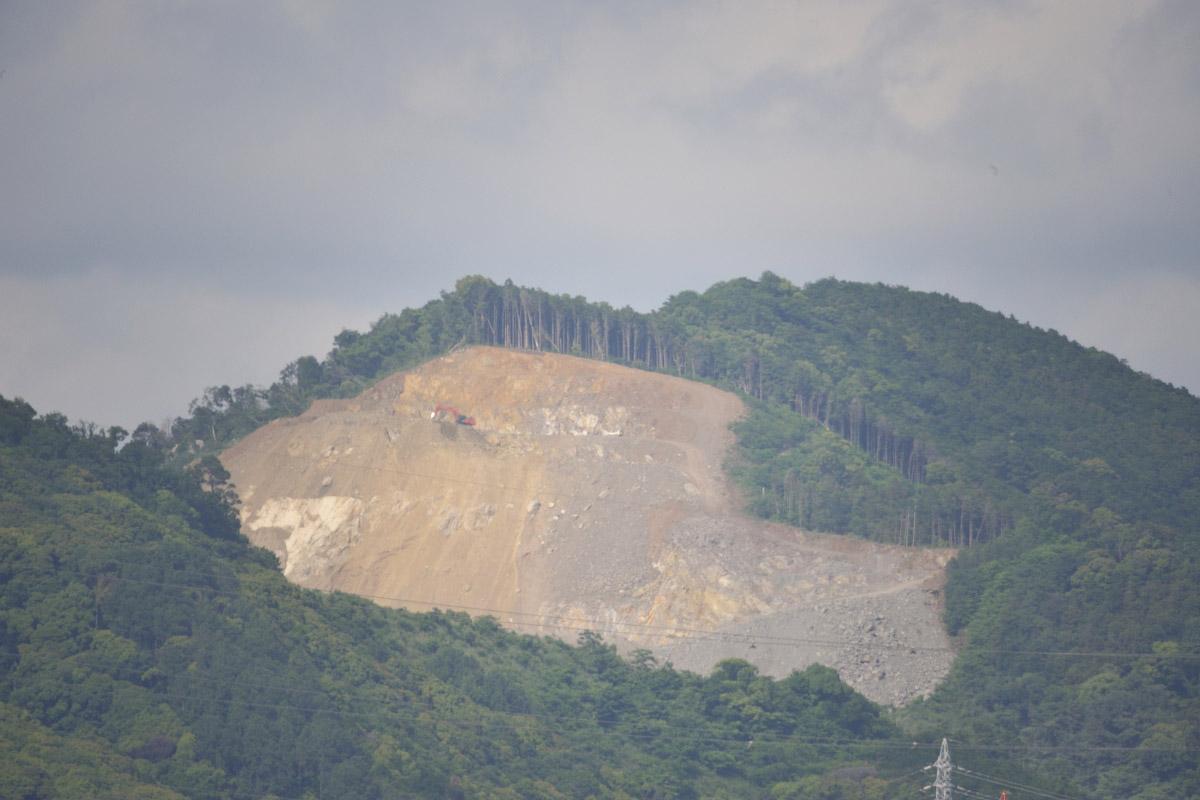 Kenko 500mm F8作例 鉱山