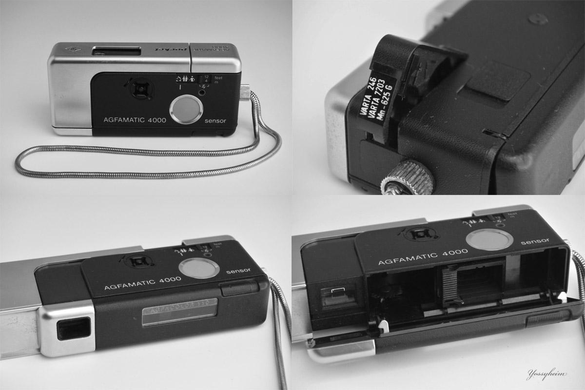 AGFAMATIC 4000 pocket sensor
