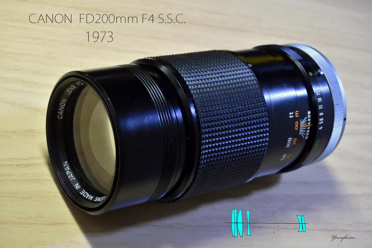 CANON FD200mm F4 S.S.Cアイキャッチ