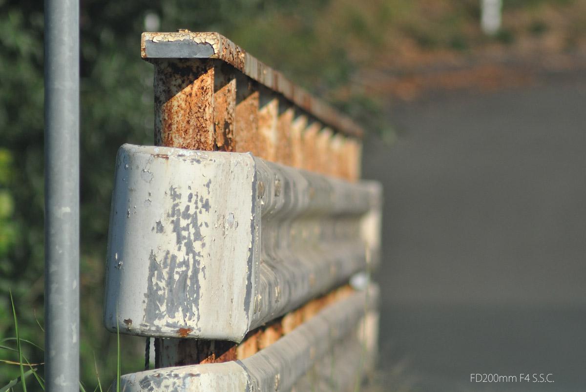 FD200mmF4SSC作例 橋の欄干